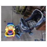 Stroller with Ride Toy