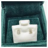14k Diamond (.35 ct) earrings