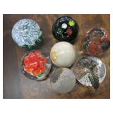 Lot of 7 Paper Weights