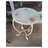 Dried Flower End Table