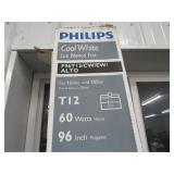 8ft Phillips Cool White Bulbs