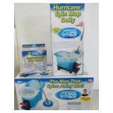 Hurricane Mop Dolly, Head, & Bucket