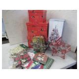 Christmas Gift Supplies & Angel Ornaments