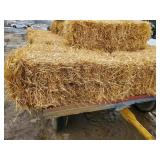 10 Bales of Clean Square Bale Straw