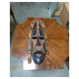 Wall hanging African mask