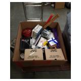 Box of stationary and miscellaneous