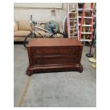 Mahogany TV stand with  Drawers
