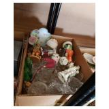 Box of miscellaneous figurines