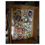 Box of baseball cards 70s and 80s 90