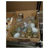 Box of horse racing drinking glasses