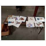 Lot of animation  Production Cels