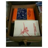 Box of aircraft paper stuff and Etc