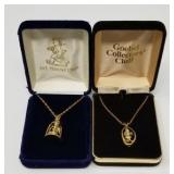 Pair of Hummel necklaces