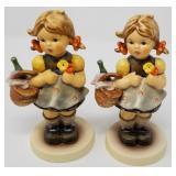 Pair of picnic girl Hummels