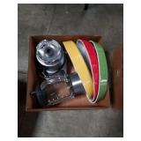 Box of blender and cookware