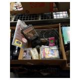 Box of Sega Genesis game console and games