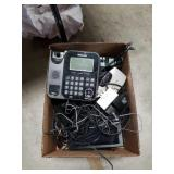 Box of wires and elecktronic gadgets