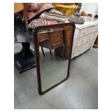 Antique wall mirror