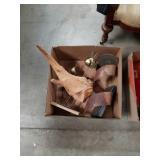 Box of sculptures