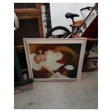 Signed nude painting by Judith