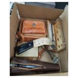 Box of miscellaneous-micrometer etc