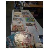Box of old magazines