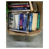 Box of historical books