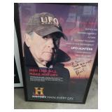 Signed UFO Hunters Poster (Bill)