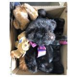 Box of teddy bears