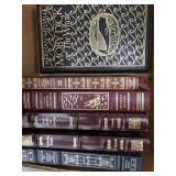 Box of books including wuthering Heights,Moby