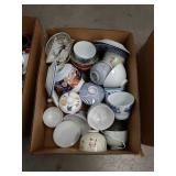 Box of Asian China pieces