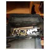 Toolbox with sink content