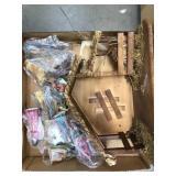 Box of nativity scene as is