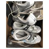 Box of shimano, Nike, diesel shoes