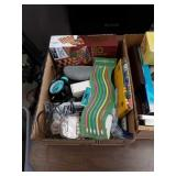 Box of multi game and miscellaneous