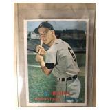Al Kaline Detroit tigers baseball card