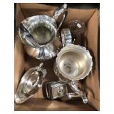 Box of silver plated