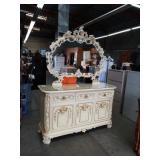 Italian dresser and mirror