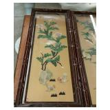 Bundle of Asian wall plaques