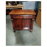 American  Empire style commode