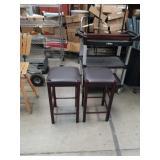 Pr of Brn.stools
