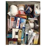 Box of misc first aid