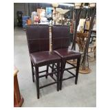 Pair of tall chairs