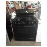 Hot point gas stove