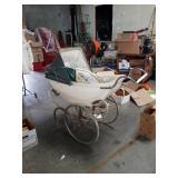 Antique baby wagon