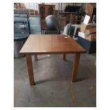 Walnut sq.dining table