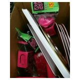 Box of trays and plates