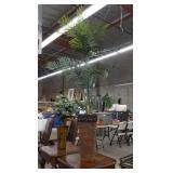 Artificial plant with decorative vase