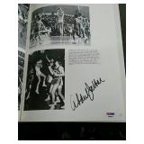 Kareem Abdul-Jabbar autographed yearbook