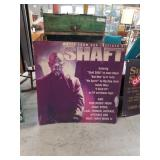 Music from the movie shaft poster